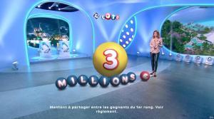 Sandrine Quétier lors du Tirage du Loto - 18/12/17 - 05