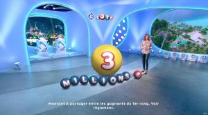 Sandrine Quétier lors du Tirage du Loto - 18/12/17 - 06
