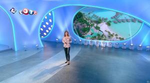 Sandrine Quétier lors du Tirage du Loto - 18/12/17 - 07