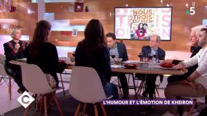 Anne-Elisabeth Lemoine dans C à Vous - 12/11/18 - 02
