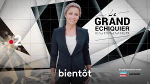 Anne-Sophie Lapix dans une Bande-Annonce du Grand Echiquier - 08/12/18 - 02