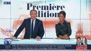Aurélie Casse dans Première Edition - 01/11/18 - 04