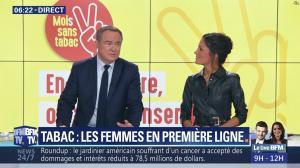Aurélie Casse dans Première Edition - 01/11/18 - 05