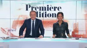 Aurélie Casse dans Première Edition - 01/11/18 - 06