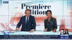 Aurélie Casse dans Première Edition - 01/11/18 - 07