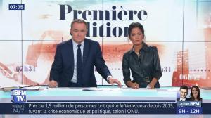 Aurélie Casse dans Première Edition - 01/11/18 - 10