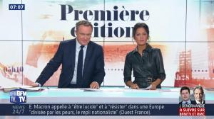 Aurélie Casse dans Première Edition - 01/11/18 - 11