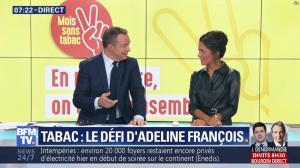 Aurélie Casse dans Première Edition - 01/11/18 - 12