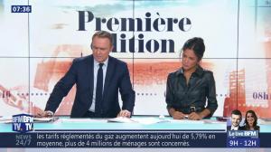 Aurélie Casse dans Première Edition - 01/11/18 - 14
