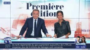 Aurélie Casse dans Première Edition - 01/11/18 - 16