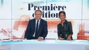 Aurélie Casse dans Première Edition - 01/11/18 - 17