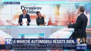 Aurélie Casse dans Première Edition - 01/11/18 - 18