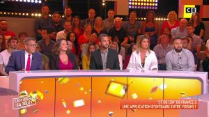 Caroline Ithurbide dans c'est Que de la Télé - 07/09/18 - 03