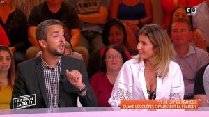 Caroline Ithurbide dans c'est Que de la Télé - 07/09/18 - 04