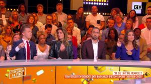 Caroline Ithurbide dans c'est Que de la Télé - 29/10/18 - 05