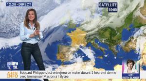 Daniela Prepeliuc à la Météo - 09/10/18 - 02
