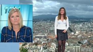 Daniela Prepeliuc à la Météo de BFM TV - 09/11/18 - 01