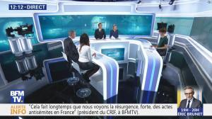 Daniela Prepeliuc à la Météo de BFM TV - 09/11/18 - 02
