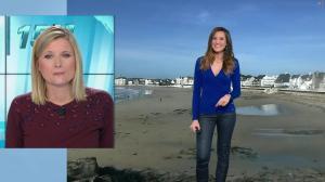 Daniela Prepeliuc à la Météo de BFM TV - 13/11/18 - 04