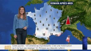 Daniela Prepeliuc à la Météo de BFM TV - 20/11/18 - 02
