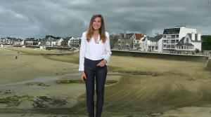 Daniela Prepeliuc à la Météo de BFM TV - 23/08/18 - 01