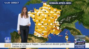 Daniela Prepeliuc à la Météo de BFM TV - 23/08/18 - 03