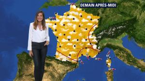 Daniela Prepeliuc à la Météo de BFM TV - 23/08/18 - 04