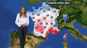 Daniela Prepeliuc à la Météo de BFM TV - 23/08/18 - 06