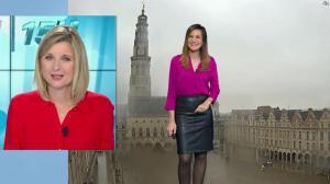 Daniela Prepeliuc à la Météo de BFM TV - 26/11/18 - 01