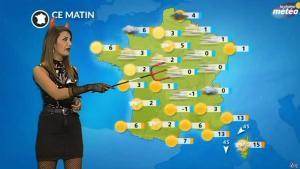 Virgilia Hess dans la Chaine Meteo - 31/10/17 - 02