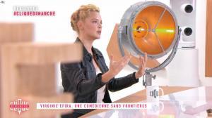 Virginie Efira dans Clique Dimanche - 04/11/18 - 03