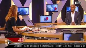 Valérie Amarou sur i-Télé - 04/12/11 - 03