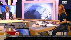 Valérie Amarou sur i-Télé - 04/12/11 - 04