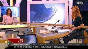 Valérie Amarou sur i-Télé - 04/12/11 - 07