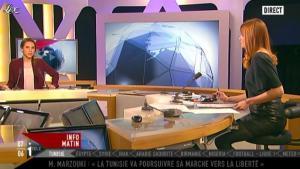 Valérie Amarou sur i-Télé - 15/01/12 - 03