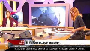 Valérie Amarou sur i-Télé - 15/01/12 - 05