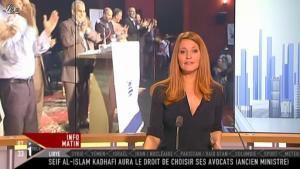 Valérie Amarou sur i-Télé - 27/11/11 - 01