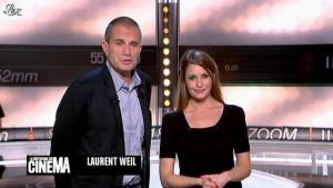 Valérie Amarou dans la Quotidienne du Cinema - 06/12/11 - 01