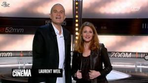 Valérie Amarou dans la Quotidienne du Cinema - 10/01/12 - 01