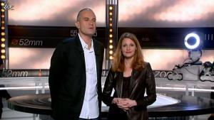 Valérie Amarou dans la Quotidienne du Cinema - 10/01/12 - 02
