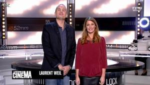 Valérie Amarou dans la Quotidienne du Cinema - 12/10/11 - 01