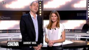 Valérie Amarou dans la Quotidienne du Cinema - 13/10/11 - 02
