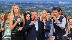 Adriana Volpe dans I Fatti Vostri - 11/10/11 - 09