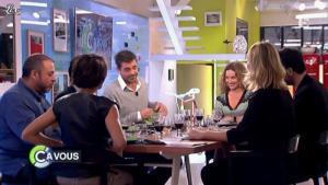 Alessandra Sublet dans C à Vous la Suite - 24/01/12 - 02