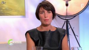 Alessandra Sublet dans C à Vous la Suite - 24/01/12 - 03