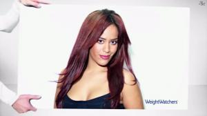 Amel Bent dans Publicité Weight Watchers - 07/01/13 - 01
