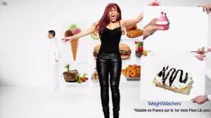 Amel Bent dans Publicité Weight Watchers - 07/01/13 - 02