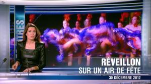 Anne Claire Coudray dans le 20h - 30/12/12 - 02