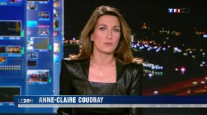 Anne Claire Coudray au 20h - 30/12/12 - 07