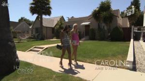 Caroline Receveur et Ayem dans Hollywood Girls - 31/10/12 - 04